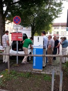 e-Carsharing für die Gemeinde am Rathausplatz