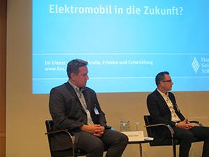 Links Dr. Christoph Ebert Rechts Nico Friedmann